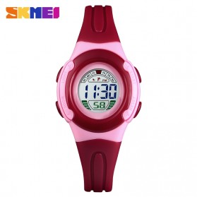 SKMEI Kids Jam Tangan Sporty Anak Waterproof - 1479 - Red