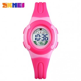 SKMEI Kids Jam Tangan Sporty Anak Waterproof - 1479 - Rose