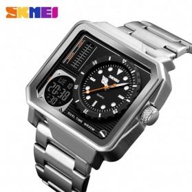 SKMEI Jam Tangan Analog Digital Modern Pria - 1392 - Silver - 1