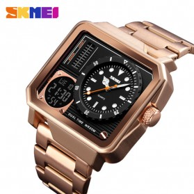 SKMEI Jam Tangan Analog Digital Modern Pria - 1392 - Rose Gold
