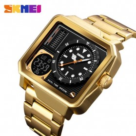 SKMEI Jam Tangan Analog Digital Modern Pria - 1392 - Golden - 1