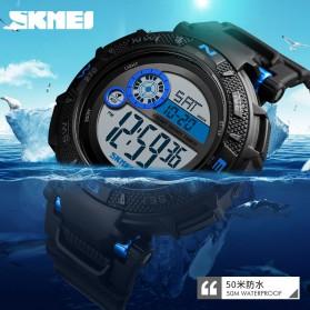 SKMEI Jam Tangan Digital Pria - 1467 - Blue - 5
