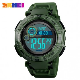 SKMEI Jam Tangan Digital Pria - 1467 - Army Green