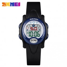 SKMEI Kids Jam Tangan Sporty Anak - 1478 - Black