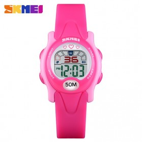 SKMEI Kids Jam Tangan Sporty Anak - 1478 - Rose