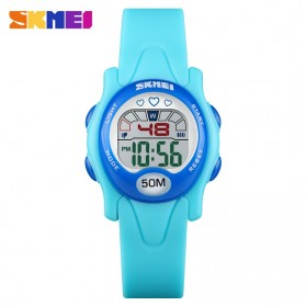 SKMEI Kids Jam Tangan Sporty Anak - 1478 - Light Blue