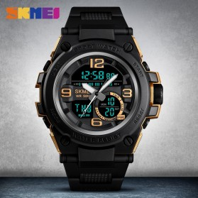 SKMEI Jam Tangan Analog Digital Pria - 1452 - Black - 4