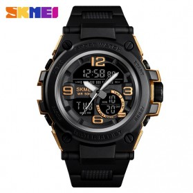 SKMEI Jam Tangan Analog Digital Pria - 1452 - Golden