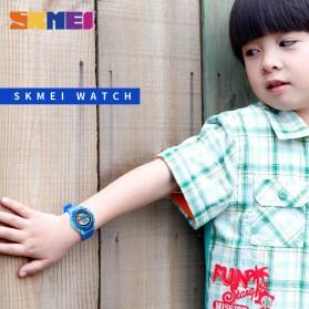 SKMEI Kids Jam Tangan Digital Anak - 1477 - Blue/Pink - 3