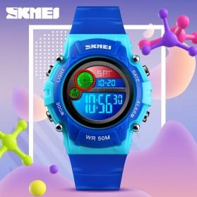 SKMEI Kids Jam Tangan Digital Anak - 1477 - Blue/Pink - 5