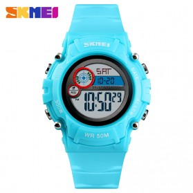 SKMEI Kids Jam Tangan Digital Anak - 1477 - Light Blue