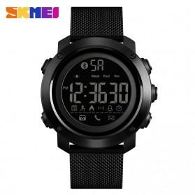 SKMEI Jam Tangan Olahraga Smartwatch Bluetooth - 1462 - Black