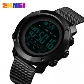 SKMEI Jam Tangan Olahraga Smartwatch Bluetooth - 1462 - Black - 2