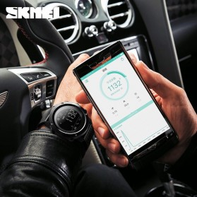 SKMEI Jam Tangan Olahraga Smartwatch Bluetooth - 1462 - Black - 3