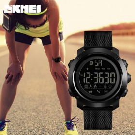 SKMEI Jam Tangan Olahraga Smartwatch Bluetooth - 1462 - Black - 4