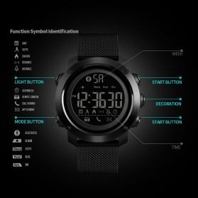 SKMEI Jam Tangan Olahraga Smartwatch Bluetooth - 1462 - Black - 5