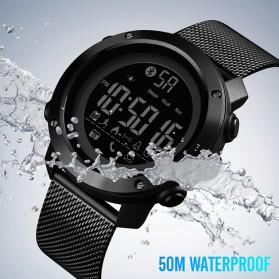 SKMEI Jam Tangan Olahraga Smartwatch Bluetooth - 1462 - Black - 7