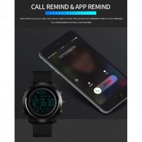 SKMEI Jam Tangan Olahraga Smartwatch Bluetooth - 1462 - Black - 9