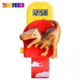 SKMEI Jam Tangan Anak Model Dinosaurus Tyrannosaurus - 1468 - Red