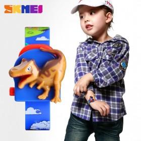 SKMEI Jam Tangan Anak Model Dinosaurus Tyrannosaurus - 1468 - Blue - 3