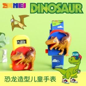 SKMEI Jam Tangan Anak Model Dinosaurus Tyrannosaurus - 1468 - Blue - 4