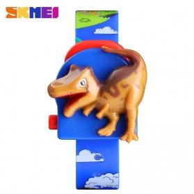SKMEI Jam Tangan Anak Model Dinosaurus Tyrannosaurus - 1468 - Blue - 8