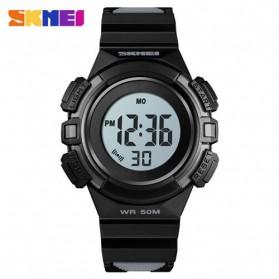 SKMEI Jam Tangan Sporty Anak Waterproof LED Digital - 1485 - Black