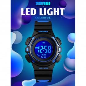 SKMEI Jam Tangan Sporty Anak Waterproof LED Digital - 1485 - Black - 2
