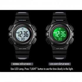 SKMEI Jam Tangan Sporty Anak Waterproof LED Digital - 1485 - Black - 3