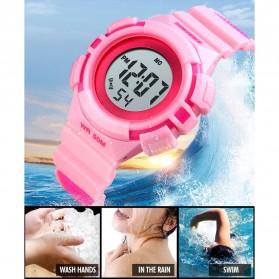 SKMEI Jam Tangan Sporty Anak Waterproof LED Digital - 1485 - Black - 4