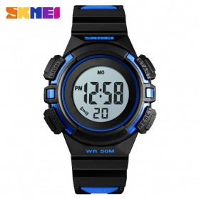 SKMEI Jam Tangan Sporty Anak Waterproof LED Digital - 1485 - Blue