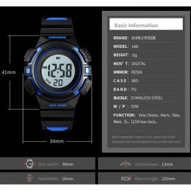 SKMEI Jam Tangan Sporty Anak Waterproof LED Digital - 1485 - Blue - 5