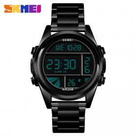 SKMEI Jam Tangan Premium Digital Analog Pria - 1448 - Black
