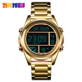 SKMEI Jam Tangan Premium Digital Analog Pria - 1448 - Golden - 1