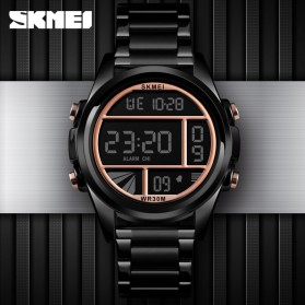 SKMEI Jam Tangan Premium Digital Analog Pria - 1448 - Golden - 2