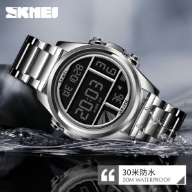SKMEI Jam Tangan Premium Digital Analog Pria - 1448 - Golden - 5