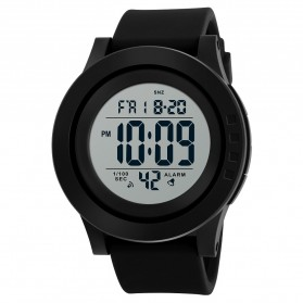 SKMEI Jam Tangan Digital Pria - 1473 - Black White