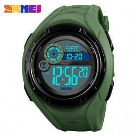 SKMEI Jam Tangan Digital Pria - 1470 - Army Green