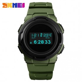 SKMEI Jam Tangan Digital Pria Sport Watch OLED - 1439 - Army Green