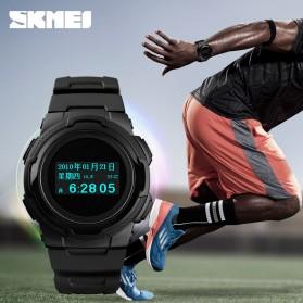 SKMEI Jam Tangan Digital Pria Sport Watch OLED - 1439 - Army Green - 2