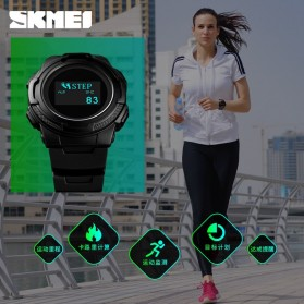 SKMEI Jam Tangan Digital Pria Sport Watch OLED - 1439 - Army Green - 3