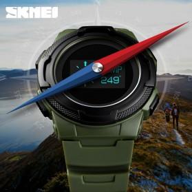 SKMEI Jam Tangan Digital Pria Sport Watch OLED - 1439 - Army Green - 4