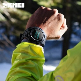 SKMEI Jam Tangan Digital Pria Sport Watch OLED - 1439 - Army Green - 5