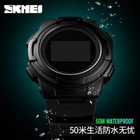 SKMEI Jam Tangan Digital Pria Sport Watch OLED - 1439 - Army Green - 6