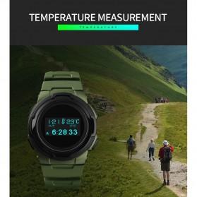 SKMEI Jam Tangan Digital Pria Sport Watch OLED - 1439 - Army Green - 7
