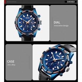 SKMEI jam Tangan Analog Chrono Pria - 9189 - Blue - 5