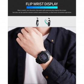 SKMEI Jam Tangan Olahraga Heartrate Smartwatch Bluetooth - 1438 - Black - 9