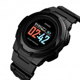 SKMEI Jam Tangan Olahraga Heartrate Smartwatch Bluetooth - 1438 - Black - 2