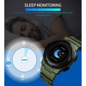 SKMEI Jam Tangan Olahraga Heartrate Smartwatch Bluetooth - 1438 - Black - 8