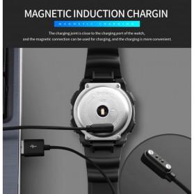 SKMEI Jam Tangan Olahraga Heartrate Smartwatch Bluetooth - 1438 - Blue - 13